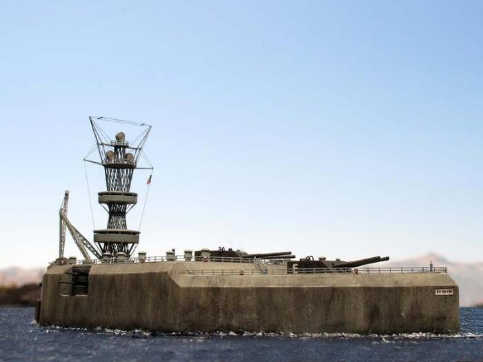 Бетонный линейный корабль (11 фото)