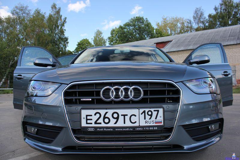Тест-дайв нового Audi A4 в кузове B8 (50 фото)