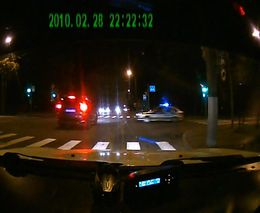 Не пропустил машину полиции