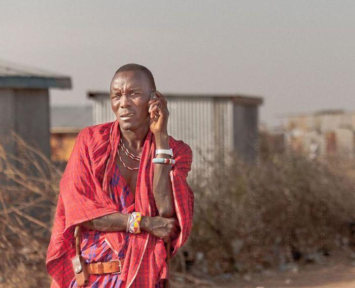 Современные масаи (14 фото)