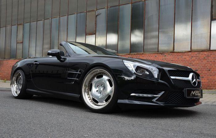Mercedes SL550 в тюнинге от ателье MEC Design (12 фото)
