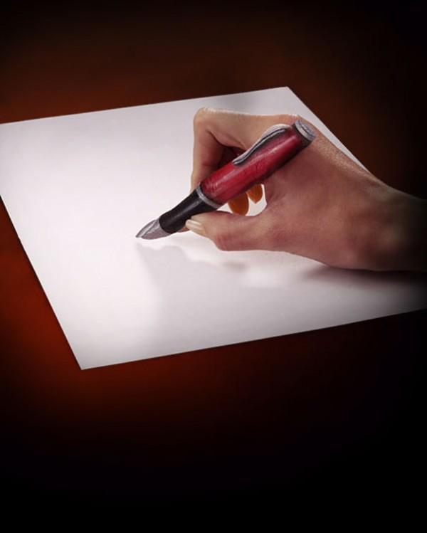Боди-арт, иллюзии из рук (6 фото)