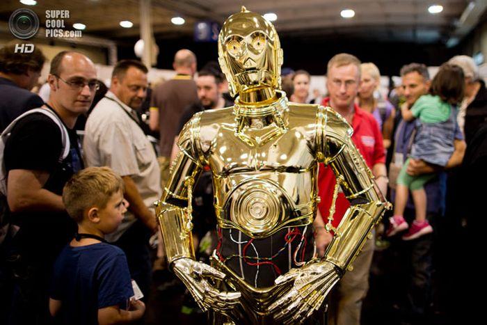 Съезд фанатов «Звездных войн»  (14 фото)