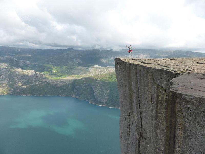 Фотоподборка гора, край света, красота природы, скала