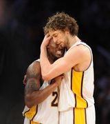 Laker Love: 12 Photos Of Kobe Bryant & Pau Gasol Bro-mancing