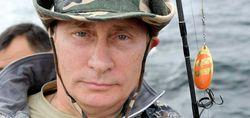 Путин и щука