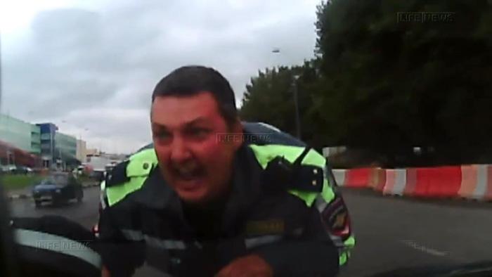 дтп, авто, авария, сбил инспектора