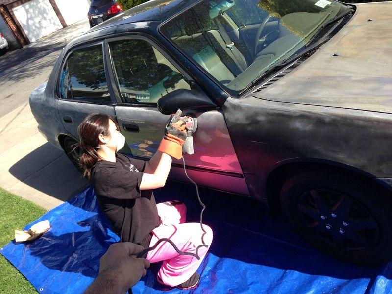 Как красить машины своими руками