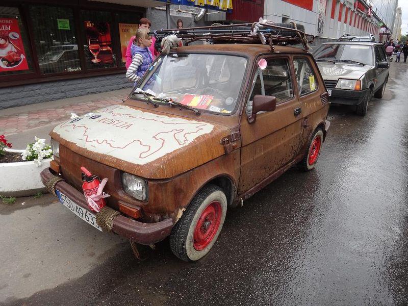 авто, rat-look, необычные авто,