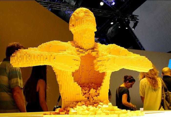 скульптор, lego, выставка