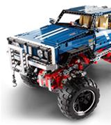 Фанат Lego собрал внедорожник