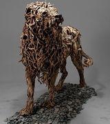 Животные из дерева и металла от скульптора Джеймса Дорана-Уэбба (8 фото)