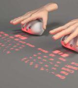 Lumiquitous - проекционная клавиатура