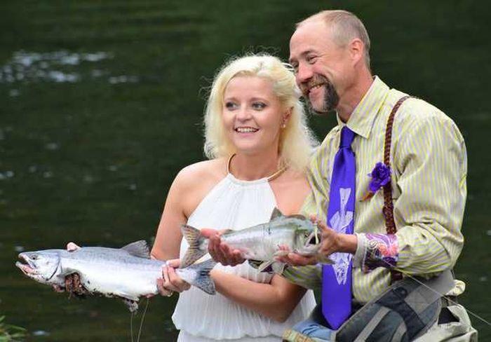 рыбалка, свадьба мечты,