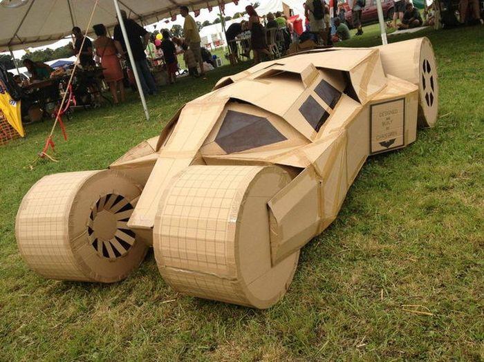 авто, модели авто, моделирование, картон