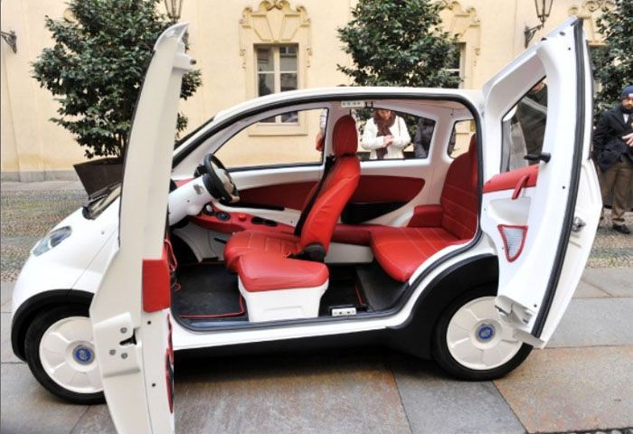авто, p-mob, электромобиль, солнечная энергия,