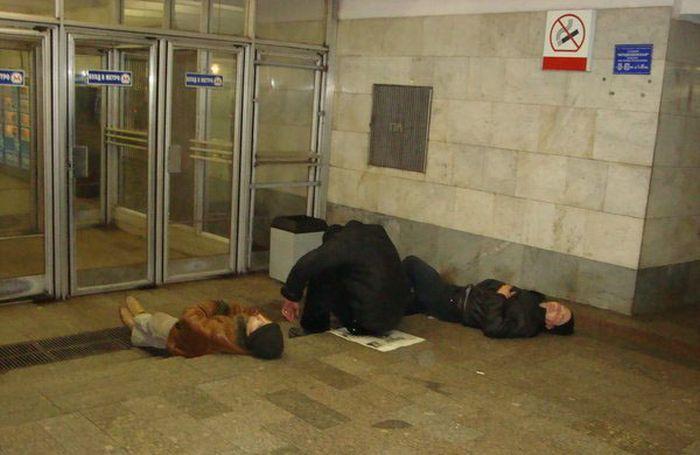 Кого можно встретить в метро (72 фото)
