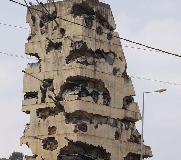 памятник, война, ливия