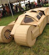 Модели автомобилей из картона