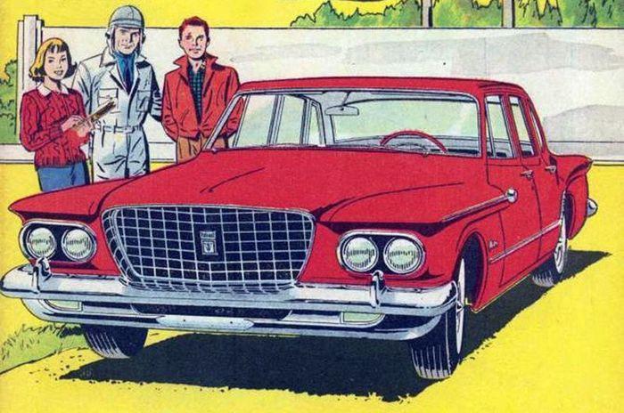 авто, chrysler, комиксы