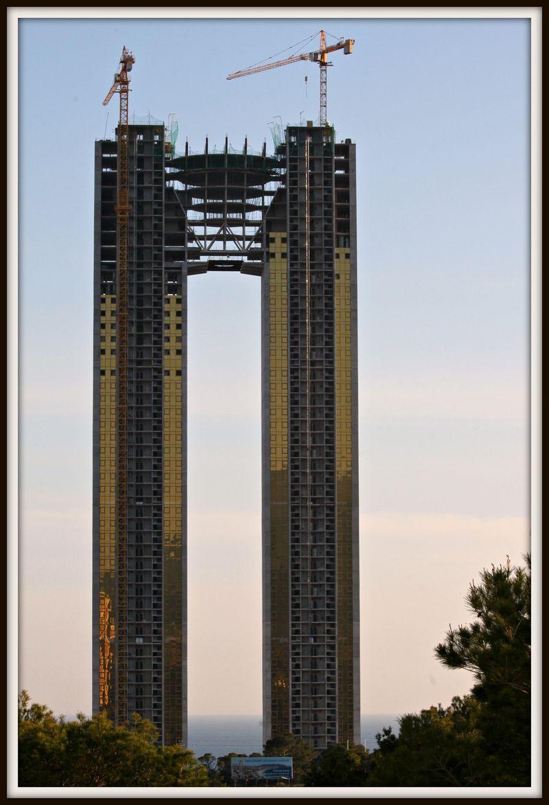 испания, небоскребы, ошибка
