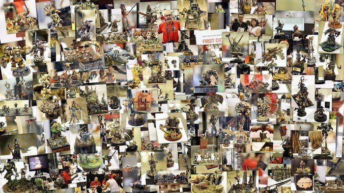 выставка, фото, warhammer 40000