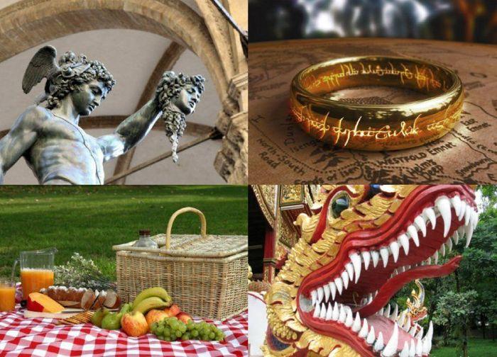 мифология, предметы, интересное