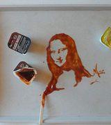 Портреты знаменитостей из еды от художника Виви Mac.