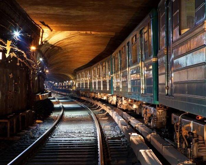Схемы метро - тогда и сейчас