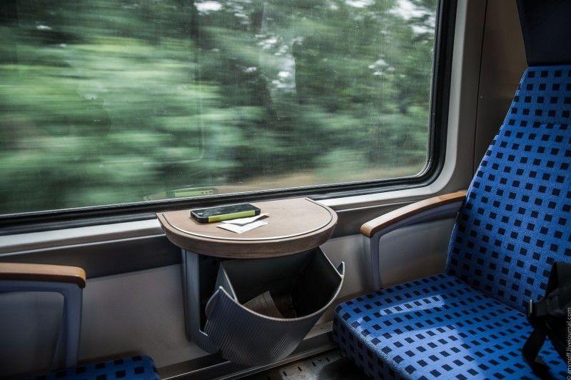 Как выглядит обычная пригородная электричка в Германии