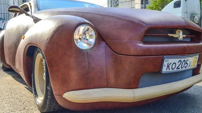 авто, сомоделка, кожаный авто
