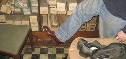 Обувной магазин закрытый более 40 лет