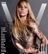 ? Lady Gaga снялась голой сразу же для четырех обложек  (12 фото)