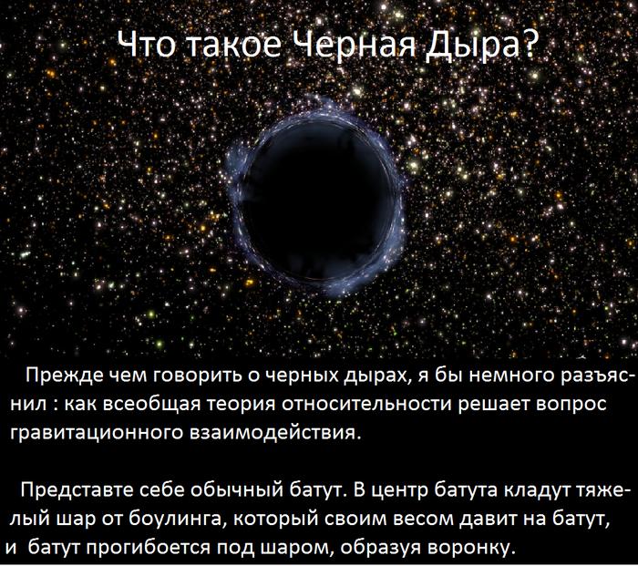 черная дыра, позновательно, интересно