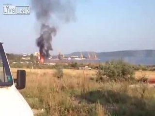 Взрыв в Болгарии