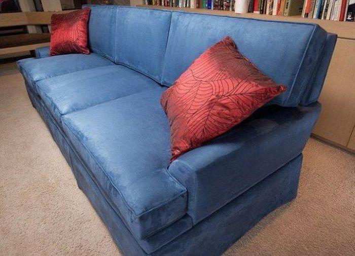 диван, тайник