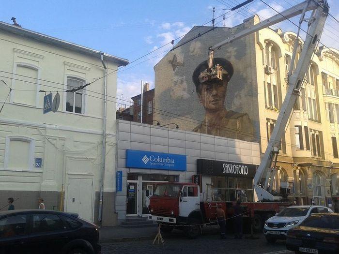 граффити, война, знаменитые люди,