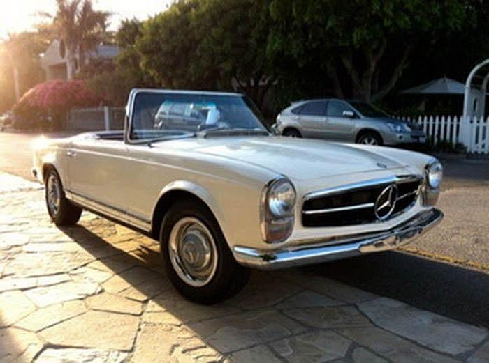 авто, найдено на ebay, mercedes-benz 230sl