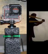 Камерой GoPro выстрелили из рогатки