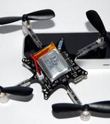 Crazyflie - миниатюрный дрон управляемый Leap и Kinect