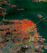Nokia разрабатывает интерактивную карту дорожного движения
