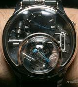 Уникальные сапфировые наручные часы с кукушкой