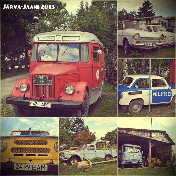 авто, музей, эстония, старые авто, старинные авто,