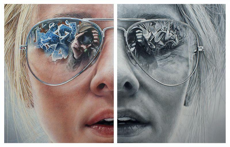 Retratos hiper-realistas 5