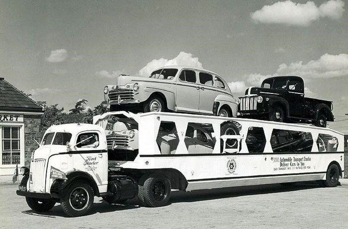 авто, автовозы, ретро авто, винтажные авто