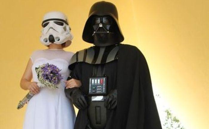 звездные войны, свадьба