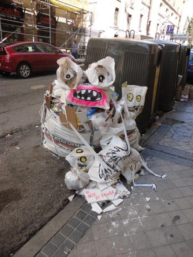 El arte es basura Musor-003