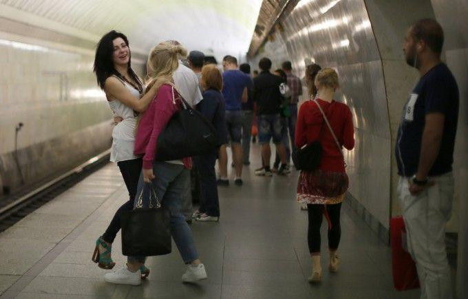 Снять девушку в метро фото 123-761