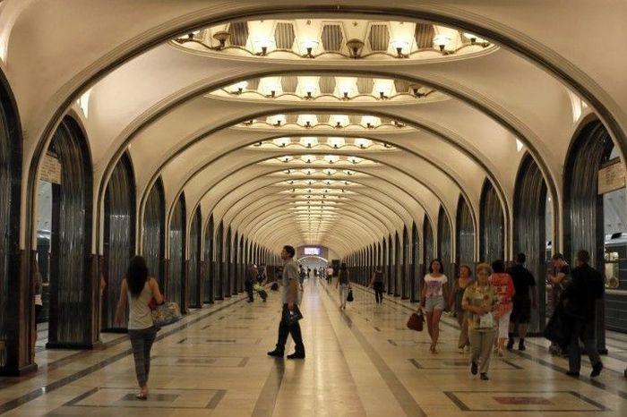 москва, метро