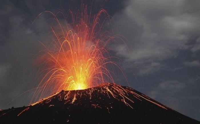 вулканы, фотографии,